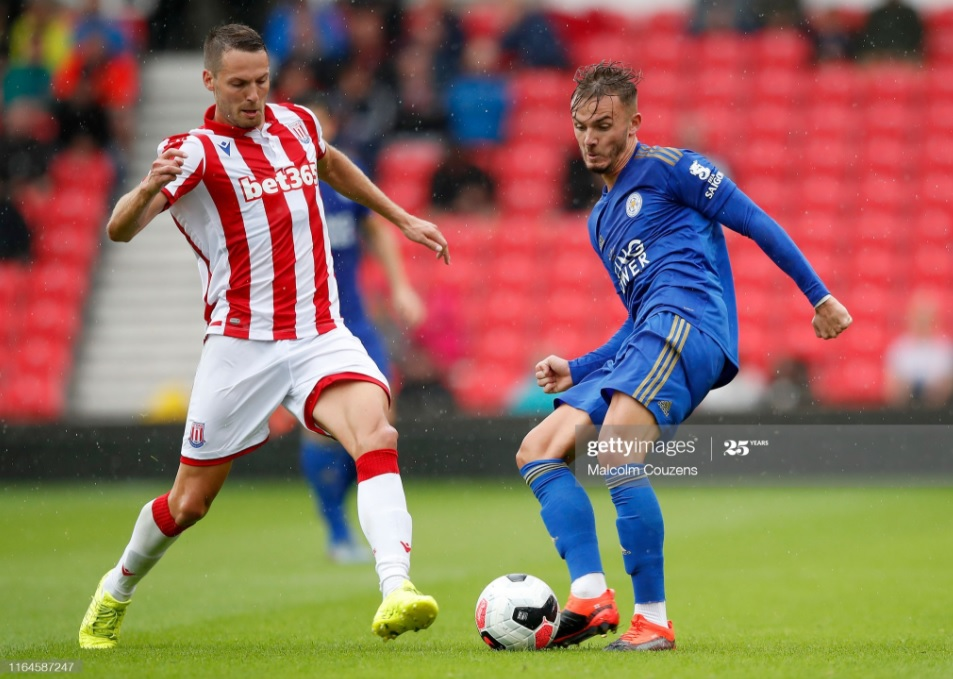 Leicester City travel to Stoke in the Third Round of the FA Cup | Photo: Getty/ Malcolm Couzens