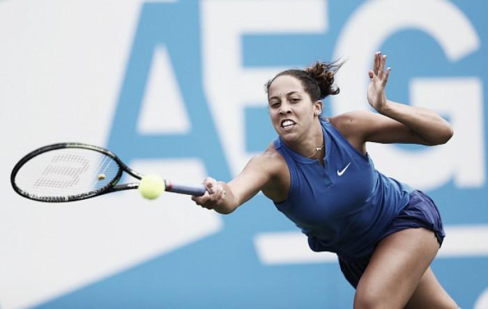 WTA Birmingham: Rain compromises play on day one