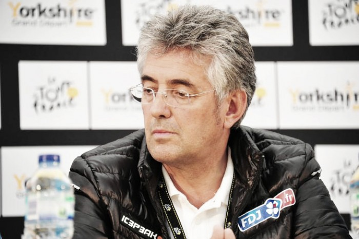 FDJ boss Marc Madiotwants UCI to implement lifetime bans on riders caught mechanically doping