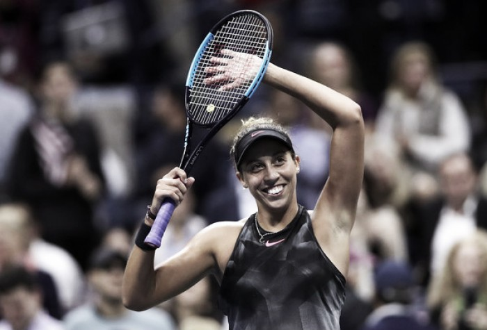US Open: Madison Keys crushes Coco Vandeweghe to reach first Grand Slam final