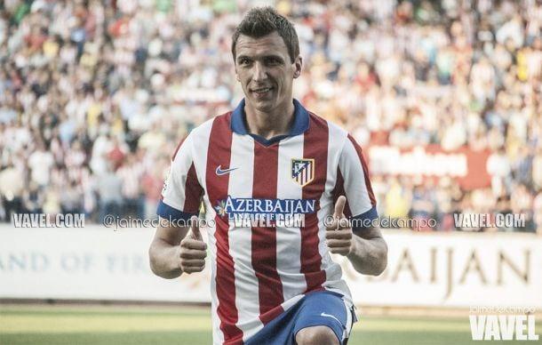 Fotos e imágenes de la presentación de Mario Mandžukić como jugador del Atlético de Madrid