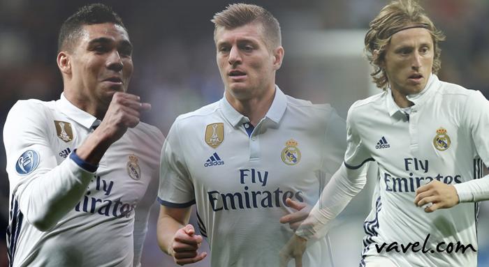 Casemiro, Kroos e Modric: o ponto de equilíbrio merengue
