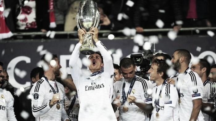 Relembre: em 2014, Real Madrid bateu Sevilla com show de CR7 e levou a Supercopa da Uefa