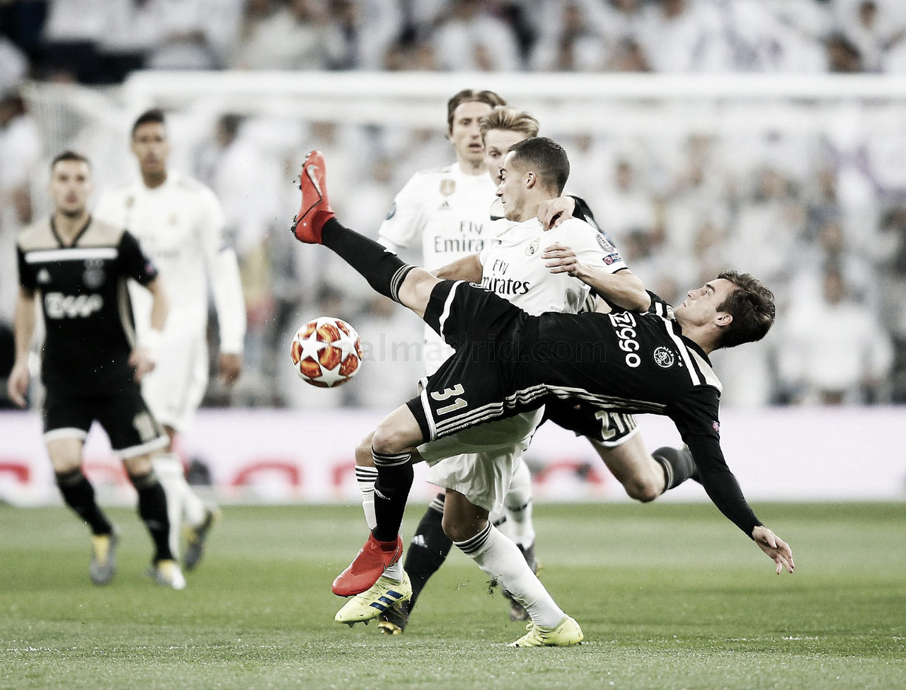 El Real Madrid pierde tres competiciones en seis días