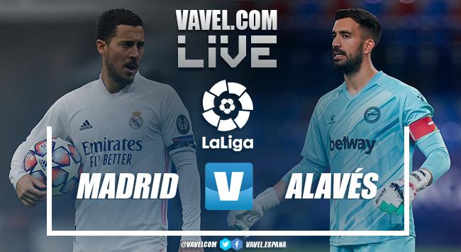 Resumen, goles y mejores momentos: Real Madrid vs. Deportivo Alavés (1-2)