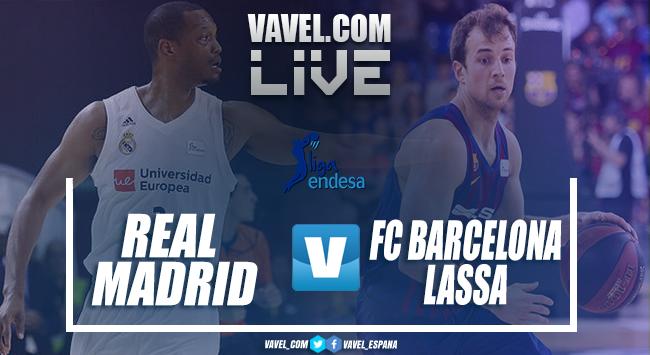 Resumen Real Madrid vs FC Barcelona Lassa en Playoff Final Liga Endesa 2019 (87-67)