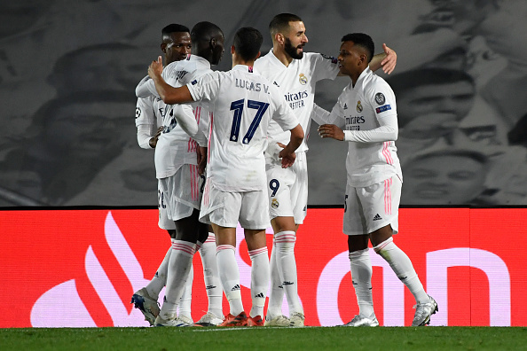 Real Madrid beat Inter Milan in a 5-goal battle