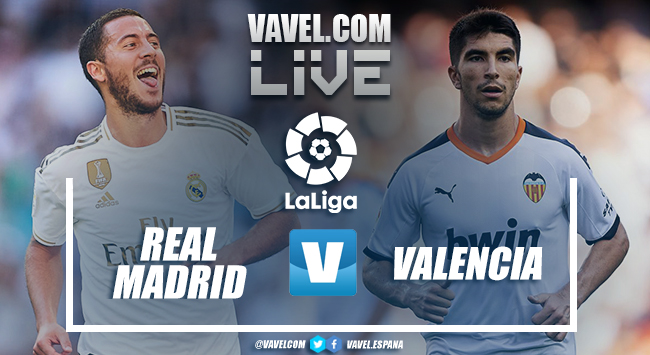 Resumen Real Madrid vs Valencia en VIVO ahora en LaLiga (3-0)