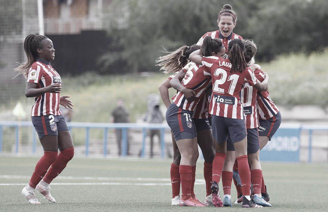 El Atlético gana el último derbi madrileño de la temporada