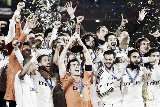 James Rodríguez, campeón del mundo con el Real Madrid