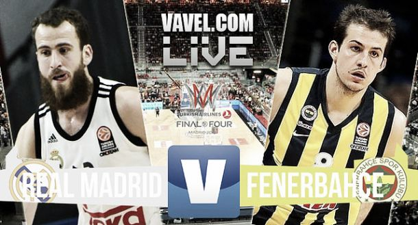 Resultado Real Madrid - Fenerbahçe Ülker en semifinales Final Four 2015 (96-87)