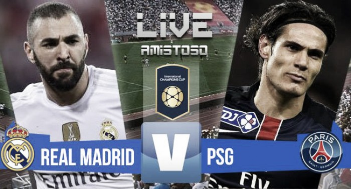 Resultado Real Madrid vs PSG en vivo online en International Champions Cup 2016