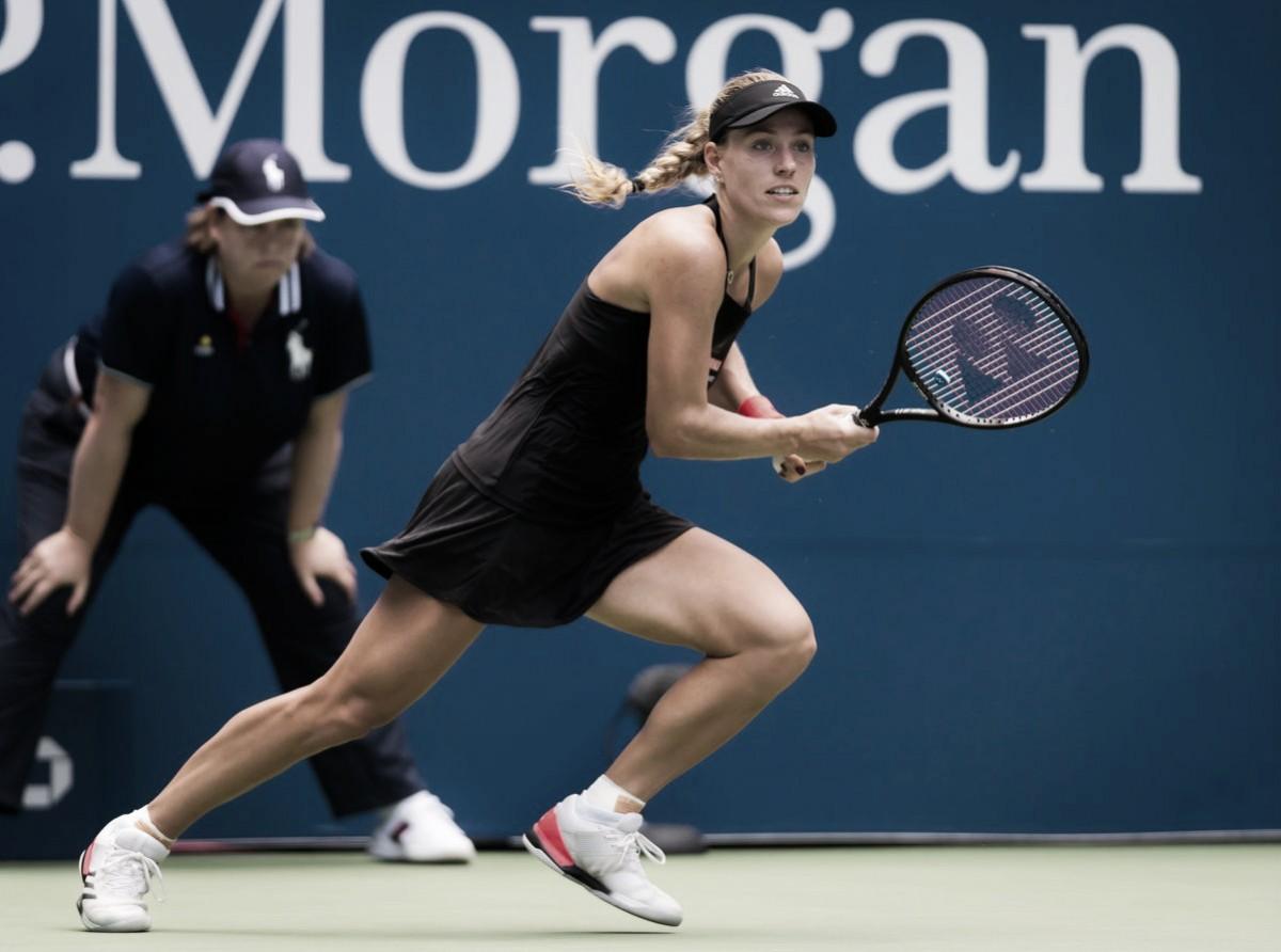 Kerber supera inspirada Larsson e avança à terceira rodada do Aberto dos EUA