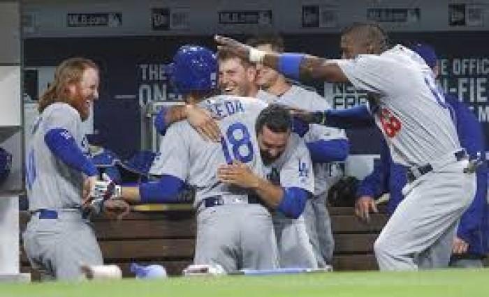 Los Angeles Dodgers Complete Sweep Of San Diego Padres
