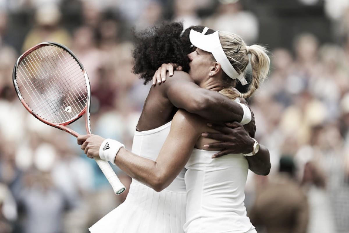 Dois anos depois, Serena e Kerber voltam a fazer uma final de Wimbledon