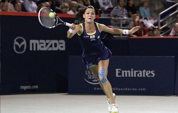 WTA Montreal, Radwanska scaccia i fantasmi e centra la finale