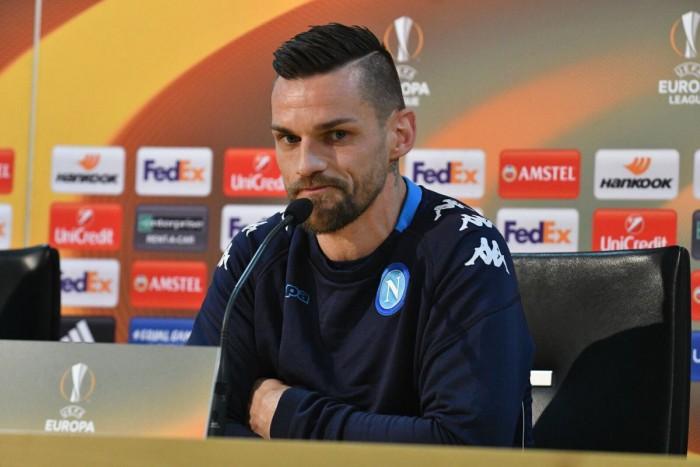 """Napoli, Maggio: """"Teniamo all'Europa League, fa parte del percorso di crescita"""""""