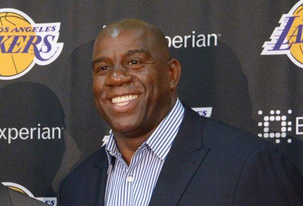 Magic Johnson Criticizes Jim Buss On ESPN's First Take