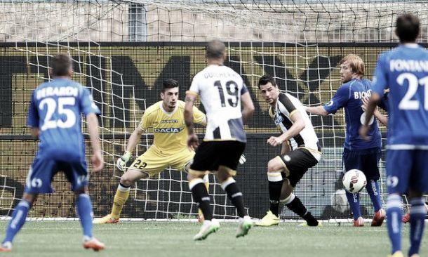 Udinese sconfitta dal Sassuolo nell'ultima partita in casa