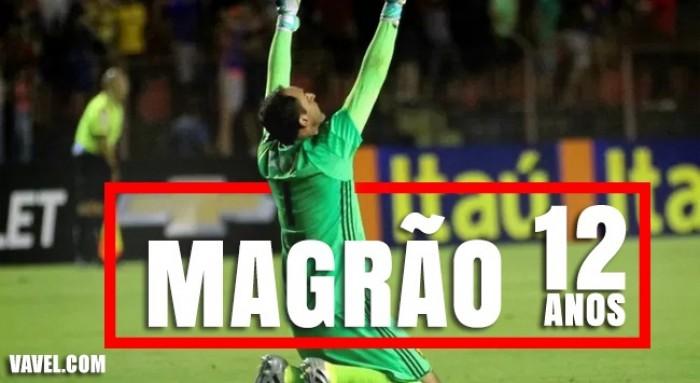Magrão no Sport: de reserva desconhecido a ídolo em 12 anos gloriosos