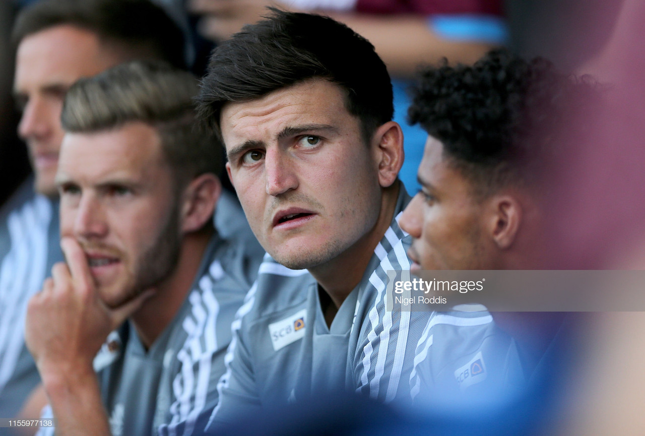 Brendan Rodgers relaxed about 'special player' Harry Maguire after pre-season win against Cheltenham Town