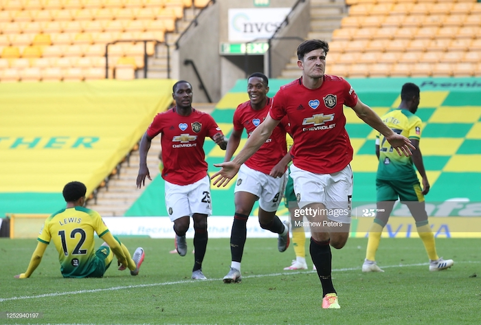 Norwich City 1-2 Manchester United: Maguire scores 118th minute winner in Cup