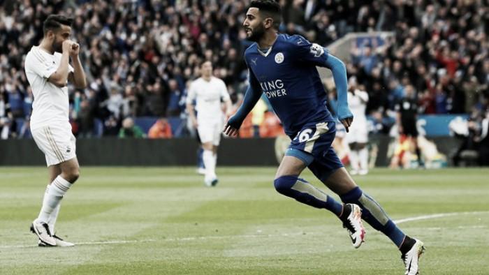 """""""Catch me if you can"""", le volpi del Leicester scappano di nuovo: 4-0 sullo Swansea"""
