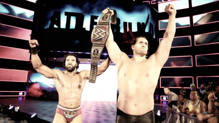 The Great Khali returns to WWE at Battleground