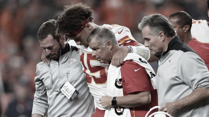 Los Chiefs le ganan a Denver pero pierden a Mahomes
