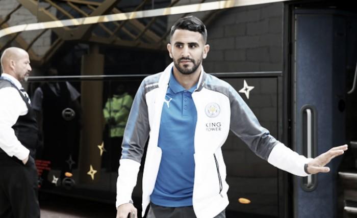 Alvo da Roma, Mahrez indica saída do Leicester na atual janela de transferências