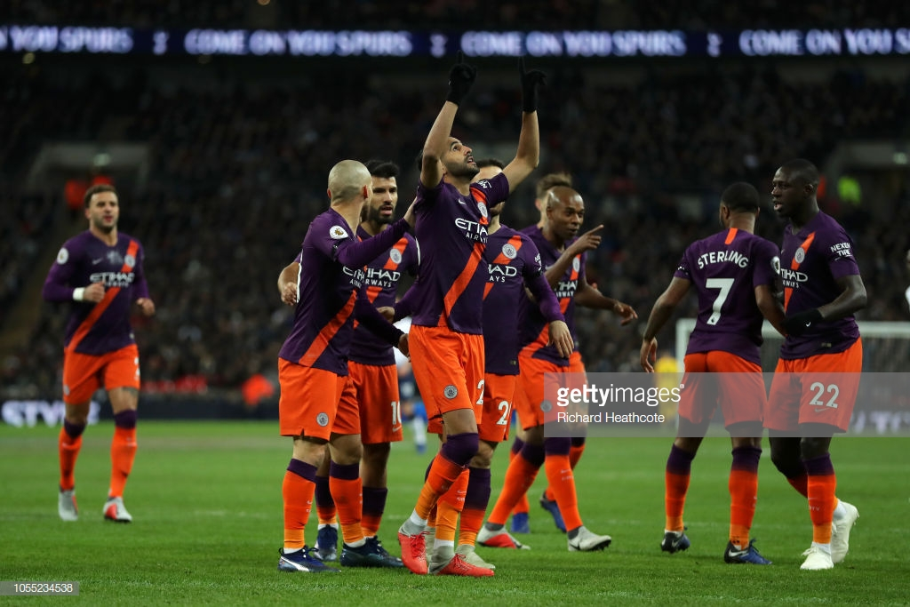 Tottenham Hotspur 0-1 Manchester City: Citizens hang on to clinch all three points and climb back to the top of the league
