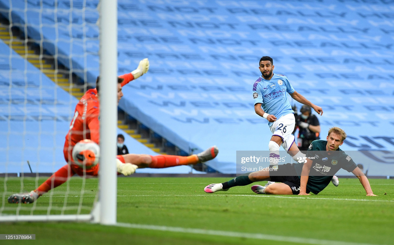 Man City 5-0 Burnley: Mahrez and Foden at the double in demolition