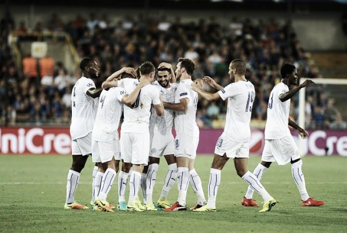 Mahrez marca dois de bola parada e Leicester estreia com vitória sobre Club Brugge na UCL