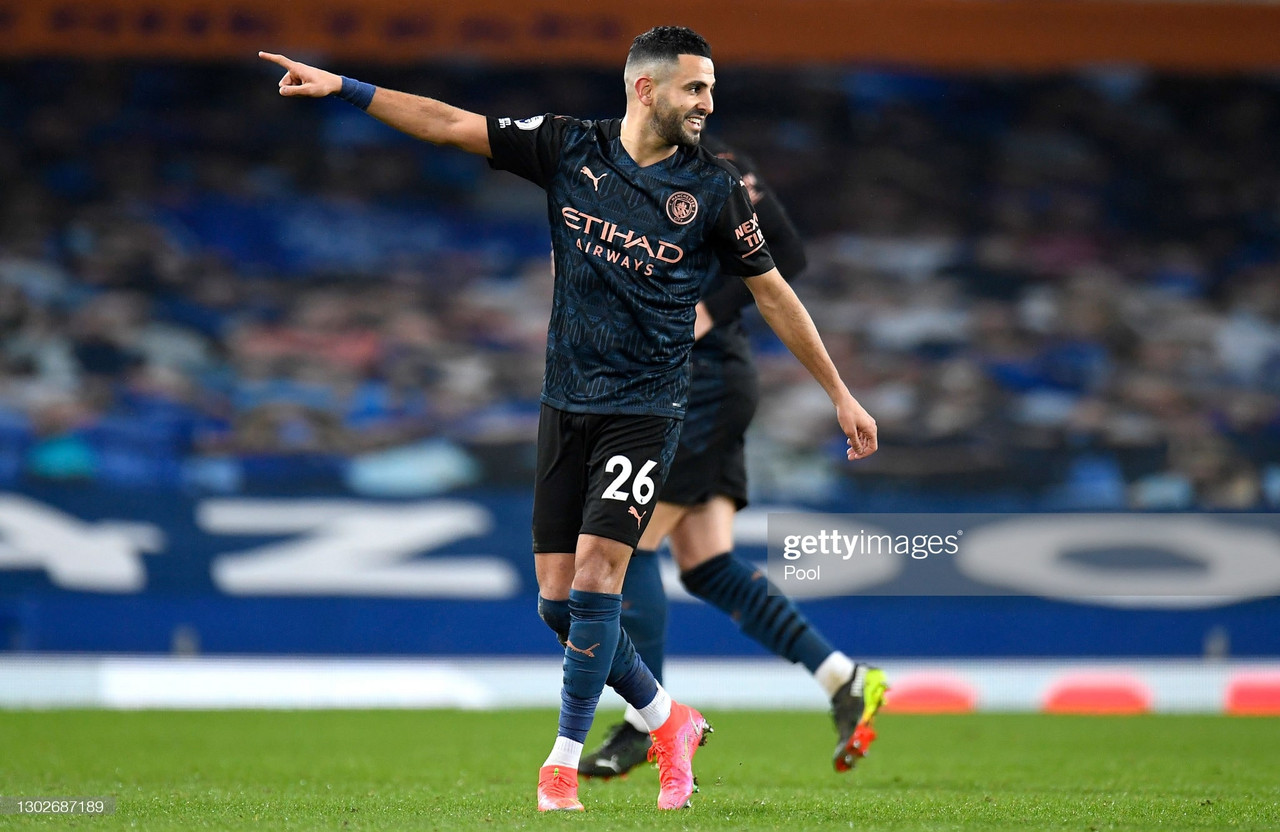 Everton 1-3 Manchester City - Mahrez magic sends City 10 clear