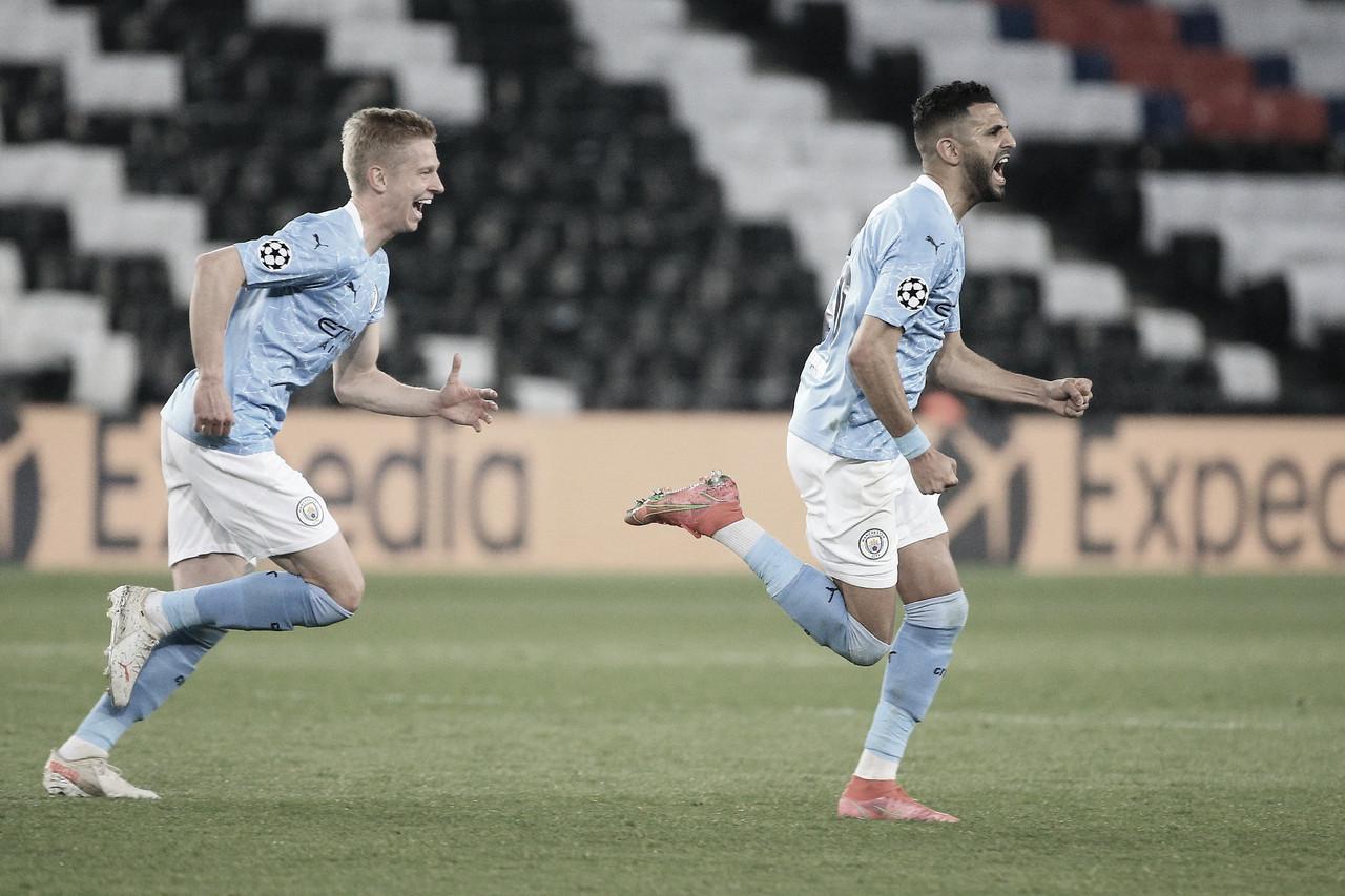 Manchester City aproveita falhas defensivas do PSG, vira em sete minutos e abre vantagem
