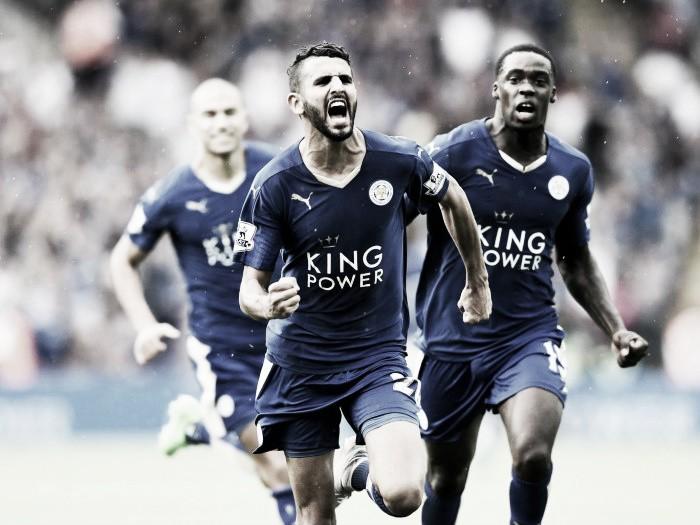 Site italiano aponta Mahrez, do Leicester, na mira do Milan