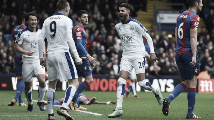 Crystal Palace 0-1 Leicester City: Mahrez strike enough for tough win at Selhurst Park