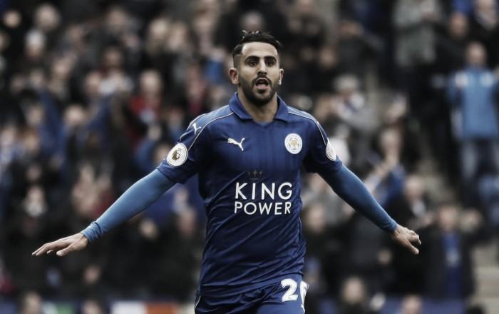 Leicester, il prezzo di Mahrez è di 50 milioni di sterline