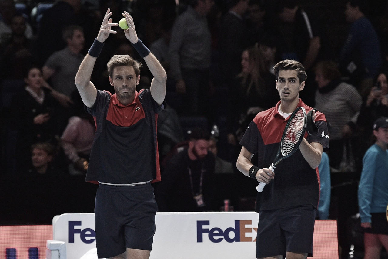 Mahut/Herbert eliminam Kubot/Melo nas semis do ATP Finals