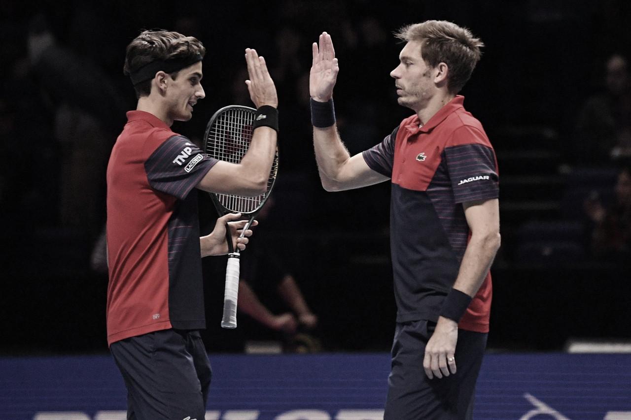 Mahut/Herbert derrotam Klaasen/Venus e conquistam ATP Finals pela primeira vez