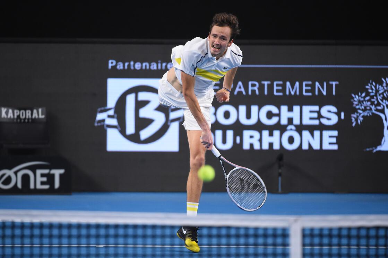ATP Marseille Day 4 wrapup: Medvedev, Tsitsipas cruise