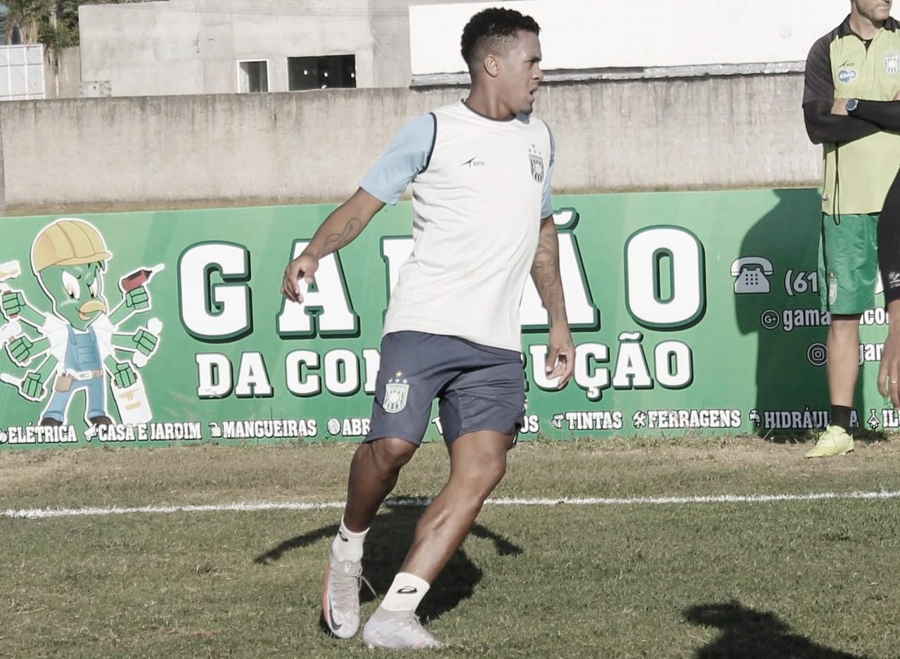 Maílson participa dos primeiros treinos no Gama e projeta acesso