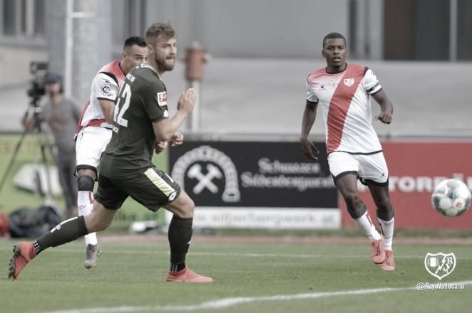 Balance del primer partido en Austria
