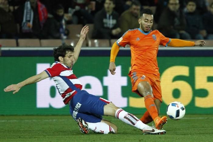 Granada CF - Valencia CF: puntuaciones del Granada CF, octavos de final de la Copa del Rey