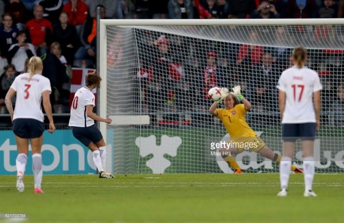 Euro 2017: Stina Lykke talks goalkeeping