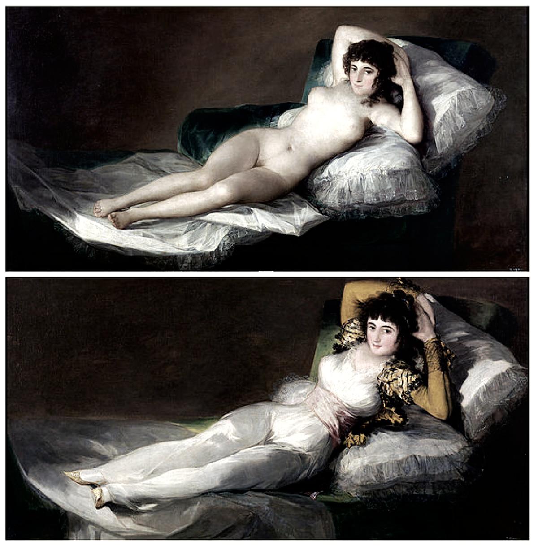 Goya la maja desnuda 1997 joe damato 3