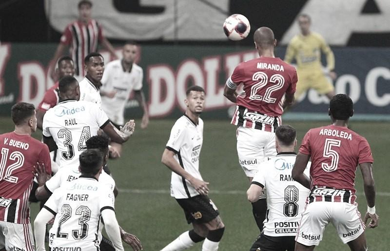 Tabu em jogo: com novidades, Corinthians e São Paulo se reencontram em Itaquera