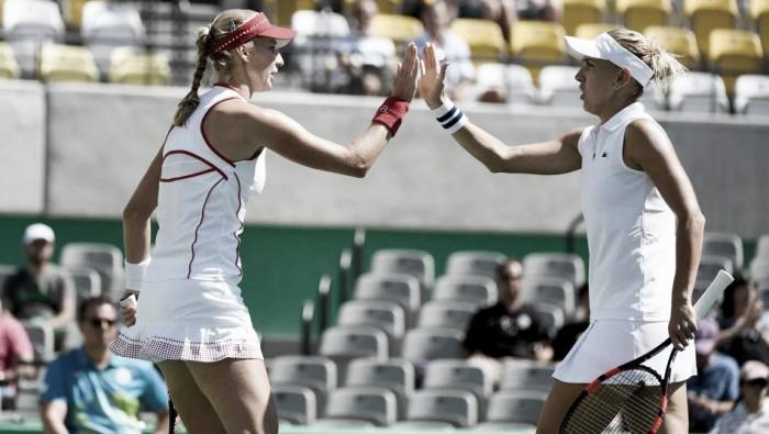 Russas Vesnina e Makarova derrotam Hingis/ Bacsinszky e conquistam o Ouro na Rio 2016