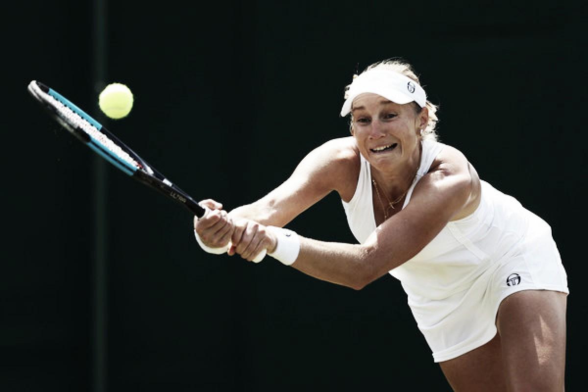 Wimbledon: Ekaterina Makarova continues good run of form, ousts Lucie Safarova in thriller