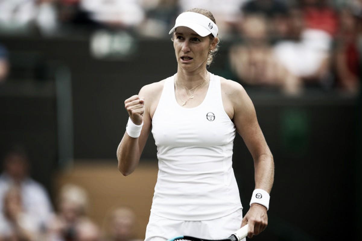 Wimbledon: Ekaterina Makarova stuns Caroline Wozniacki in thriller